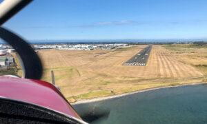 Tauranga final approach to 07